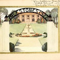 Image of 1922 Milestones Cover