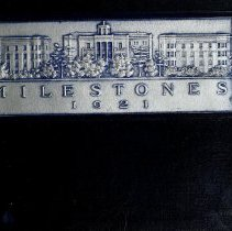Image of 1921 Milestones Cover