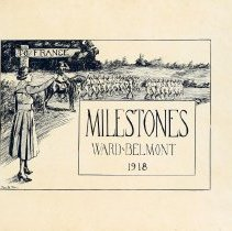 Image of 1918 Milestones Cover