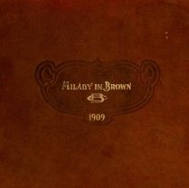 Image of 1909 Milady in Brown Cover