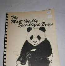Image of 2009.10.1 - The Most Highly Specialized Bears