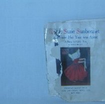 Image of 2009.51.1 - Little Susie Sunbonnet and How Her Year Was Spent: A Story for Little Tots