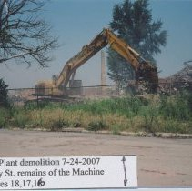 Image of A-51-01-026 - Armstrong Floor Plant Demolition Album