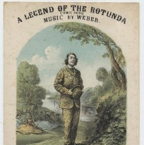Image of A Legend of the Rotunda: Mr. Perkins's Pic-nic - Sheet Music, Large Format