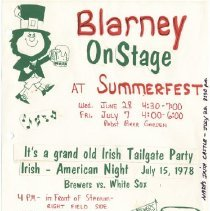 Image of Blarney - On Stage at Summerfest