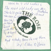 "Image of Blarney - Additional Verse to ""Seven Old Ladies"""