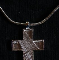 Image of Ancient Order of Hibernians Uniform Cross Necklace - Necklace