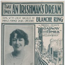 Image of 'Twas Only An Irishman's Dream - Sheet Music, Large Format