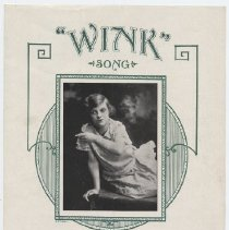 "Image of ""Wink"" Song - Sheet Music, Large Format"