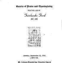 Image of 15-for-118 - Program