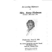 Image of Anna Holmon