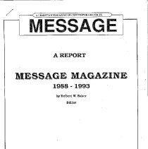 Image of 16-MES-04 - Magazine