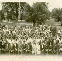 Image of Colored Yourth Congress, 1934, Oakwood