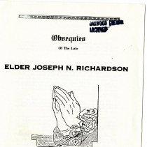 Image of Joseph N. Richardson