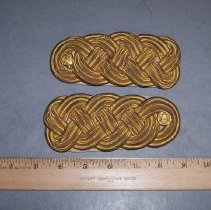 Image of Shoulder Boards--WW II - Shoulder Knots