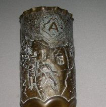Image of Shell Case Vase - Trench Art