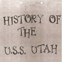 Image of History of the U.S.S. Utah - History, USS Utah