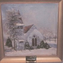 "Image of ""Winter of 44"" - Painting, Post Church"
