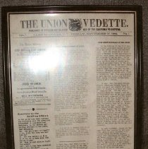 Image of Camp Douglas Union Vedette - Newspaper, Union Vedette 1863