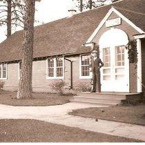 Image of CCC Headquarters Building - Photograph, Ft Douglas CCC