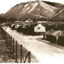 Image of Prisoners of War Camp - Photograph, Ft Douglas POW