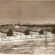 Image of Prisoners of War Barracks - Photograph, Ft Douglas POW
