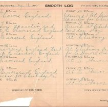 Image of Pictorial Log USS Utah - Daybook, Sailor Travel Log 1921