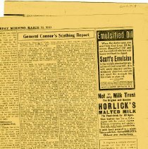 Image of Historical Newspaper Articles - Newspaper Articles, 1897-1942