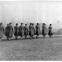 Image of WACS Marching - Photograph, Ft Douglas WACs