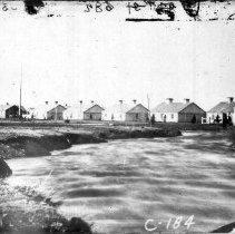 Image of Fort Bridger Officer Quarters - Negative, Ft Bridger