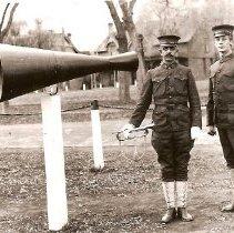 Image of Buglers - 1920's - Photograph, Ft Douglas Bugler