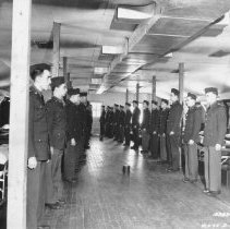 Image of Selective Service Inspection  - Photograph, Ft Douglas Reception Ctr
