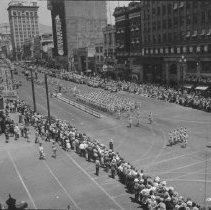 Image of Parade on Main Street - Photograph, Parade