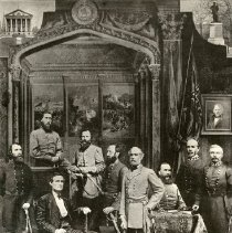 Image of Confederate Army Commanders - Print, Confederate Commanders