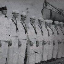 Image of Sailers--USS Utah - Photograph, USS Utah