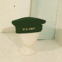 Image of Navy Hat--WW II - Hat, USN