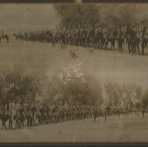 Image of Fort Duchesne Cavalry Parade - Photograph, Ft Duchesne