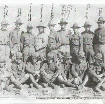 Image of Brigham Young's Decendants in WWI - Photograph, 145th FA Btr A