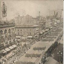 Image of Military Parade - Postcard, Parade