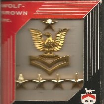 Image of Insignia--U.S. Navy - Insignia, Petty Officer