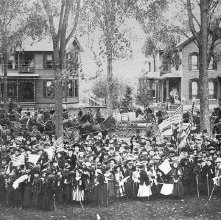 Image of 1964.008.0001 - Parade, October 12, 1892
