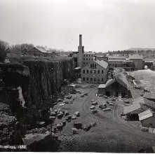Image of 1966.016.0036 - 971. Glens Falls Black Marble Quarry, 1884.