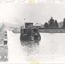 Image of 1967.048.0056 - Barge Canal at Comstock, NY