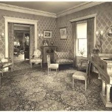 Image of 1968.048.0001 - Parlor of the Arabella Parks Home