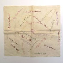 Image of Autograph Pillowcase - 1969.029.0024