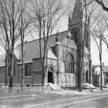 Image of 1974.016.0059 - 988. Baptist Church, Glens Falls.