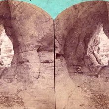 Image of 1975.071.0014 - Leatherstocking Cave, Glens Falls.