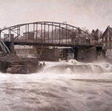 Image of 1976.161.0007 - Iron Bridge, Spring, 1895