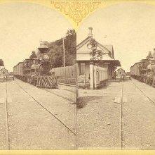 Image of 1977.086.0002 - Catskill Station, Hudson River