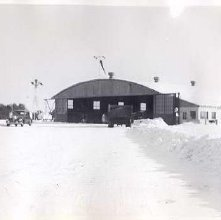 Image of 1977.103.0011e - Snow at Floyd Bennet Field; winter 1942